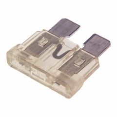 ATC Blade Fuse, 25 Amp, Clear