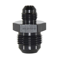 Flare Reducer, Male -10AN x -6AN, Black