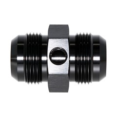 "Union, -16 JIC Male, 1/8"" FPT Port, BLK"