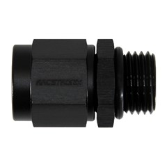 Adapter, -6AN Female » -6 ORB Male, BLK
