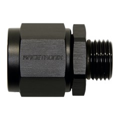 Adapter, -8AN Female » -6 ORB Male, BLK