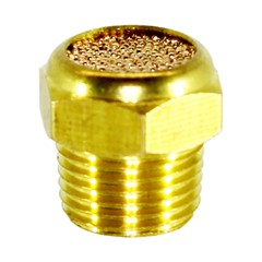 "Breather, 1/8"" MPT Sintered Brass"