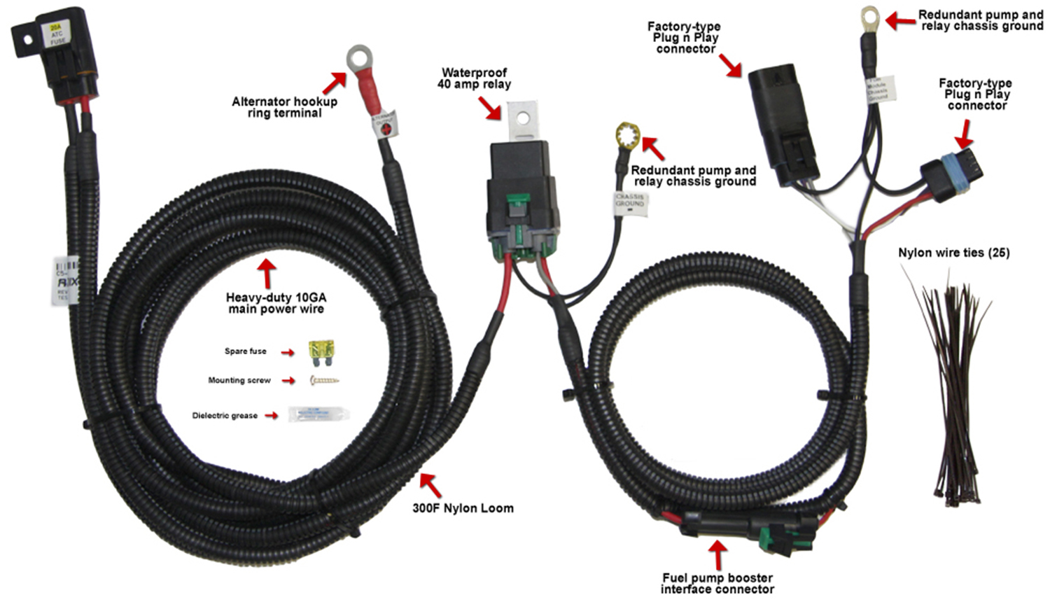G7 Fuel Pump Wiring Harness Anything Diagrams Poulan Po17542lt Diagram Hotwire Upgrade Harnesses Racetronix Rh Biz Gm Chevy Truck
