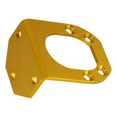 Bracket, Single Catch Can GV/V2, GOLD