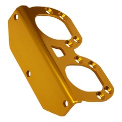 Bracket, Dual Catch Can GV/V2, GOLD