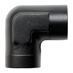 "90° Fitting, 3/8"" Female NPT Elbow, BLK"