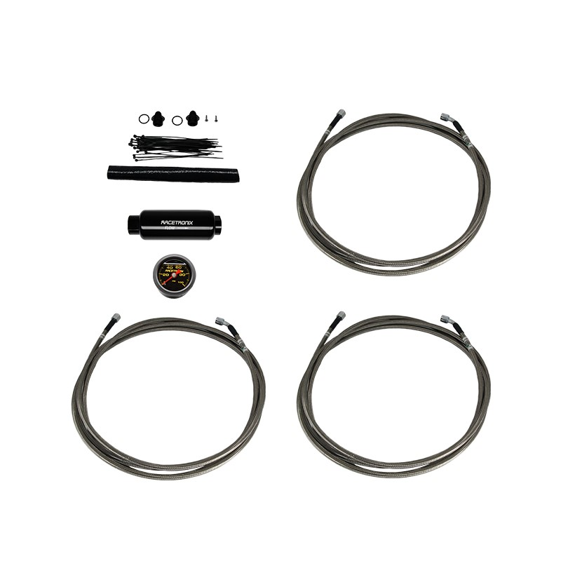 Turbo Buick Teflon Fuel Line Kit SS (FLK-G7A): Fuel Line