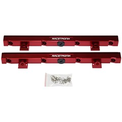 Fuel Rails, Billet Aluminum, LS1 - RED