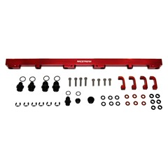 Fuel Rails, Billet Alm, Nissan RB30, RED