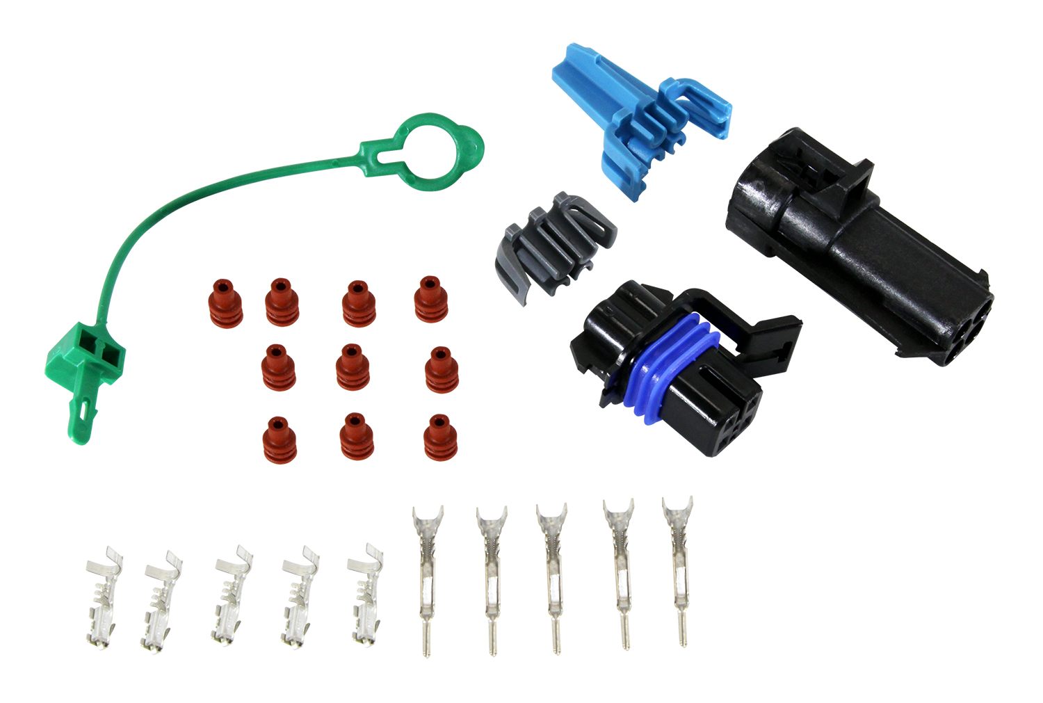 New Fuel Pump 4-Way Female Wiring Harness Connector PT2054